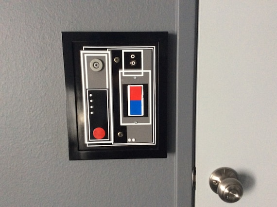 Star Wars Light Switch Panel Cover