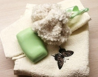 Knitting Pattern: Bath Time Scrubby