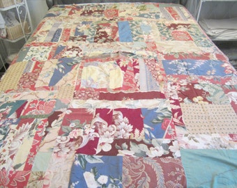 Vintage Floral Quilt (Waverly Fabric)