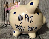 Boy Piggy Banks Personalized,Girls Piggy Banks,Personalized Piggy Bank,Girl Piggy Banks Personalized,Personalized Piggy Bank Gift,Birthday