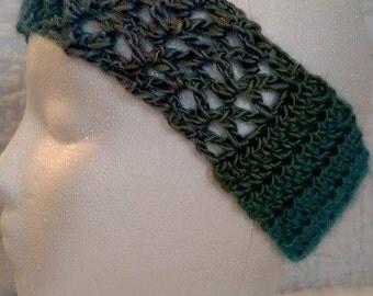 Boutique Headband Blue Lacy Headband