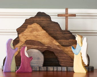 Easter Resurrection Scene