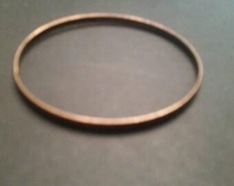 Vintage Copper Bangle Bracelet Jewelry