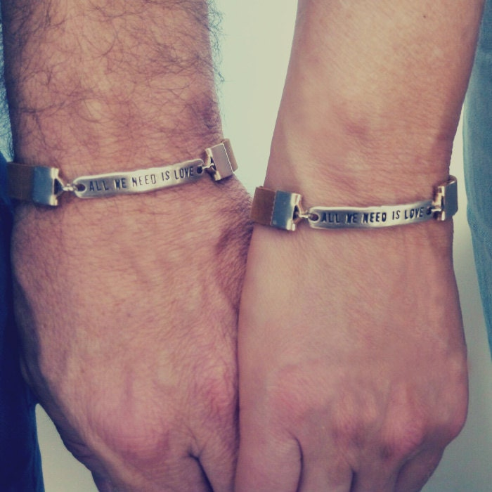 boyfriend girlfriend matching bracelets gifts for couples. Black Bedroom Furniture Sets. Home Design Ideas