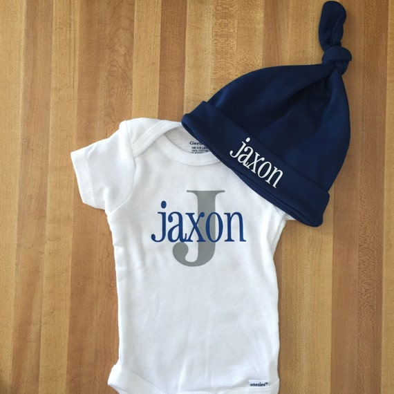 Going Home Newborn Onesie Outift Baby Boy Take Home Outfit