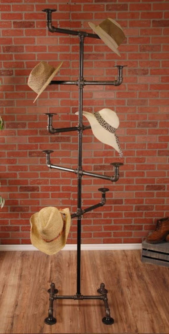 how to make a hat stand display