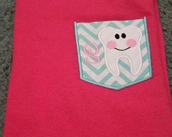 Dental Tooth Pocket T-Shirt