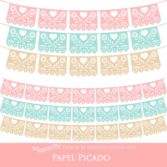 papel picado clipart - photo #8