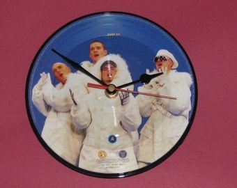 "East 17 stay another day  7"" picture disc record clock"
