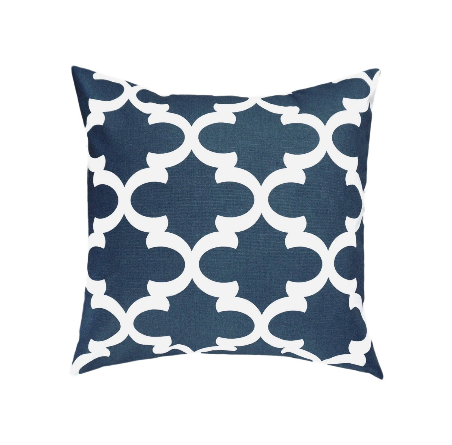 SALE Navy Pillow Covers.Dark Blue Throw by TheDesignerTouch