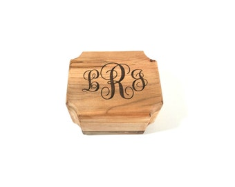 Personalized Custom Monogram Music Box Choose Your Song, Hand Made Wooden Music Box, Wedding Music Box, Wedding Party Gifts