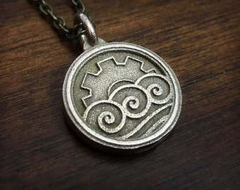 Avatar Legend of Korra Korrasami Stainless Steel 3DPrinted Pendant