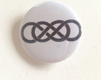 Double Infinity // Revenge Pinback Button (31mm)