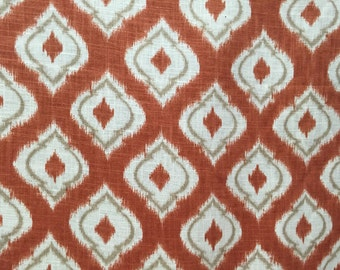 Apricot Ikat Diamond