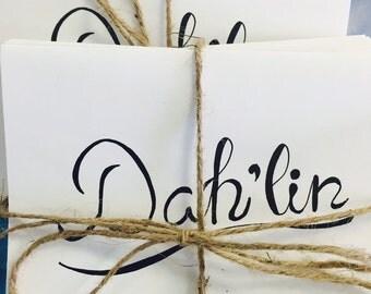 Dah'lin Notecards - Correspondence