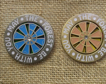 Electric Forest my the first be with you music festival collectors edition spinner pin sets. Only 50 made!!