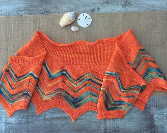 Waves of Sunshine Shawl