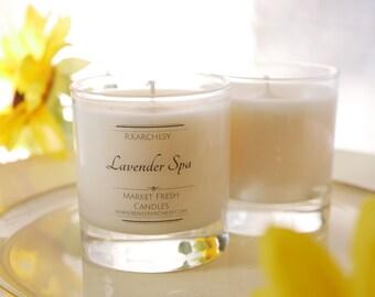 Lavender Spa Soy Candle 8oz