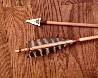 Arrow of Light, 1-Native American style Arrow, Order of the Arrow, Award Arrow, Ceremonial AOL