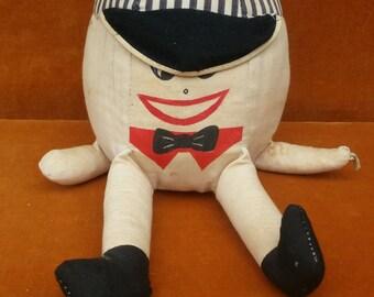 vintage stuffed humpty dumpty A Samwell product Japan