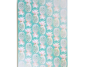 Pineapples Postcard
