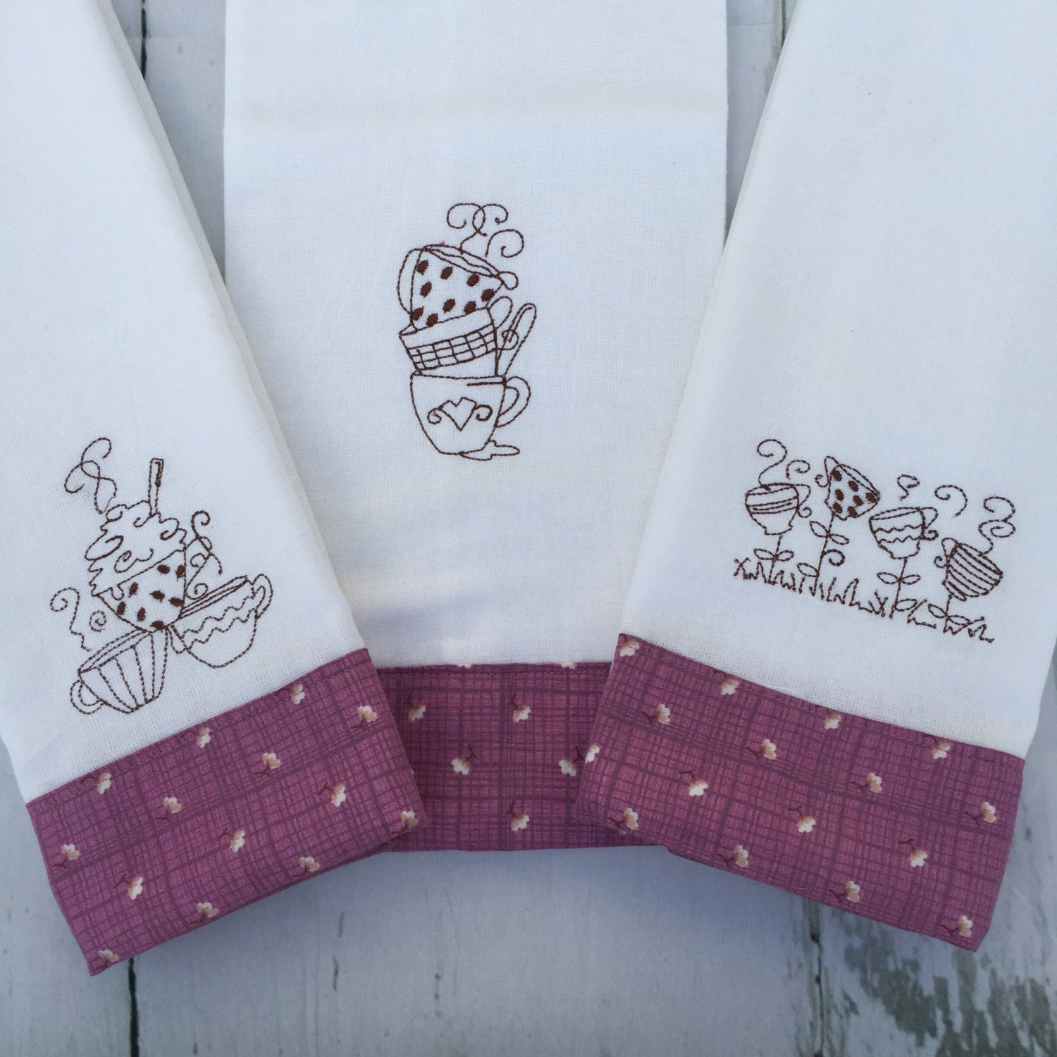 Embroidered Kitchen Towels Kitchen Towels Embroidered