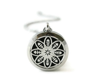 Essential Oil Diffuser Necklace-Stainless Steel-Diffuser Necklace-Free Shipping