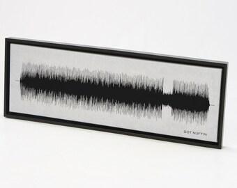Got Nuffin : Song Wall Art Print, Canvas Design, Framed Print.