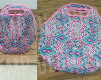 Lilly Pulitzer Lunch Totes, Lilly Pulitzer Lunch Bag, Custom Lunch Bag, Preppy Lunch Bag, Preppy Lunch Tote