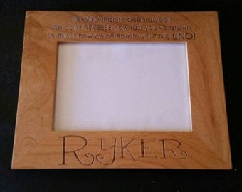 Engraved Picture Frame - 5 x 7