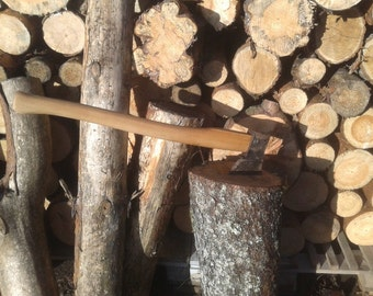 Axe handle , Handle from axe , Wooden handle , Handcarved , Wooden handle from axe , Handle , Handle from wood , Handle wooden , Hand Hewn