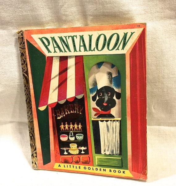 Rare Little Golden Book Pantaloon A Little By border=
