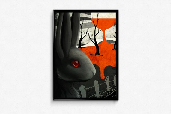 Black Rabbit of Inle Print