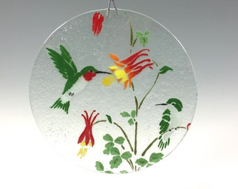 Hummingbird Suncatcher Bird Window Hanging