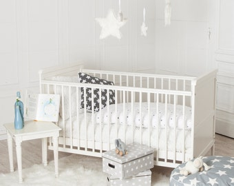 PuckDaddy Cot bed 70x140cm, also usable as bed for kids