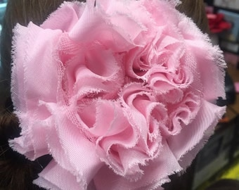 Handmade Fabric Flower Hair Clip