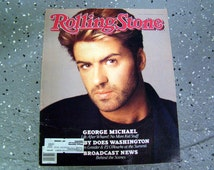 George Michael - Rolling Stone Magazine Issue# 518 - 1988