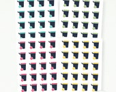 Wheelie Bin Planner Stickers  - Rubbish Bins - The Mini Collection