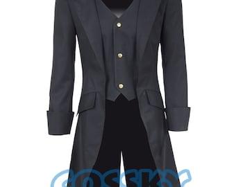 Steampunk Tuxedo Cosplay Costume