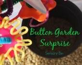 Button Garden Surprise Sensory Bin