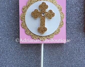 Baptism lollipop covers