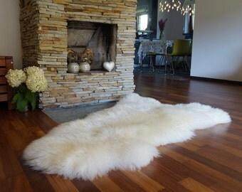 original giant xxl white genuine natural sheepskin rugs exclusive rug area rugs carpet outdoor rugs cheap - Sheepskin Rugs