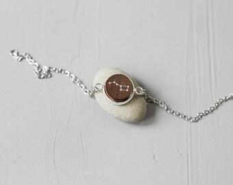 Ursa Major bracelet / Constellation bracelet / Charm bracelet / Delicate bracelet / Chain bracelet / Space jewelry / Constellation jewelry