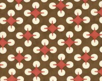 Moda Fabrics Home On The Range Brown