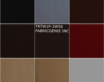 "2-Way Stretch Twill Poly Rayon Suiting Fabric By The Yard ""TRTW1P-2W56"""