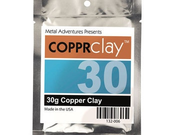 Copper Clay-30g-Jewelry Supplies-Glass and Clay Supplies