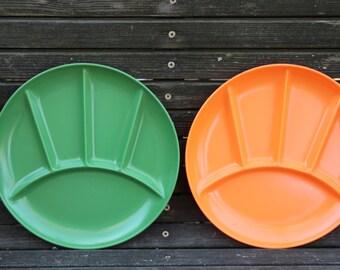 Melamine Divided Plates