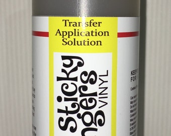 Transfer Application Solution Spray for Adhesive Vinyl Decals, Graphics and Lettering