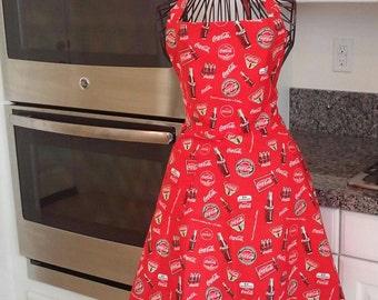 Women's Coca Cola apron