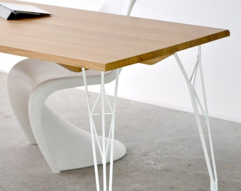Table foot white Effl